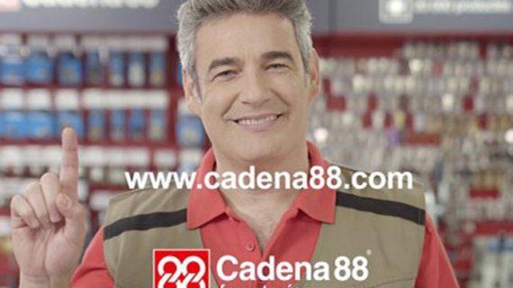 Nueva campaña de imagen en televisión de Cadena 88.